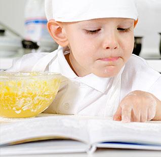 أبجديات الطبخ مع الأطفال