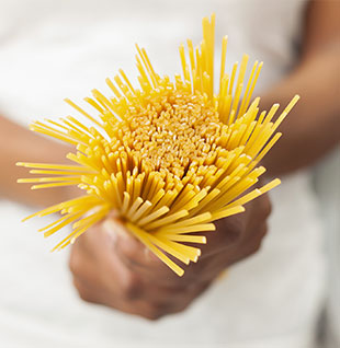 Getting the right amounts of pasta