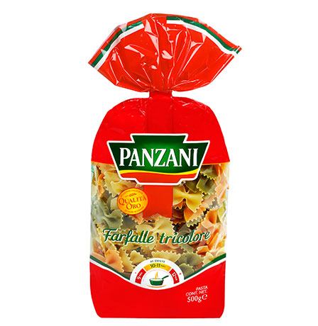 Pastas with vegetables
