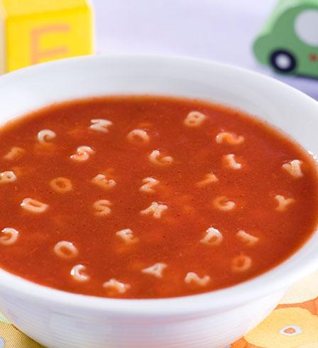 Tomato alphabet soup - Panzani EN