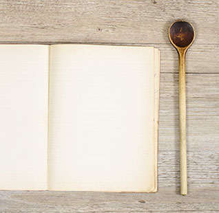 The recipe journal for little chefs