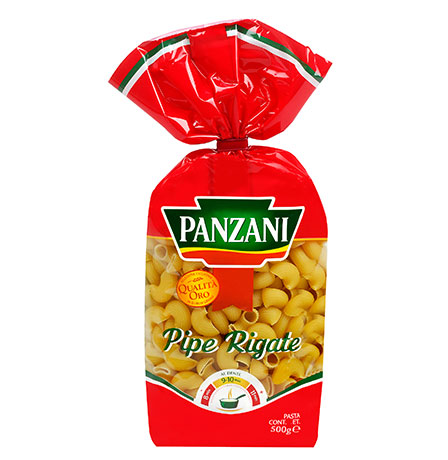 Traditional short pastas