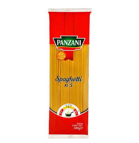 Traditional long pastas